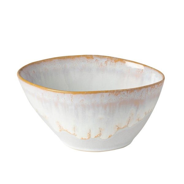 Bol din gresie ceramică Costa Nova Brisa,⌀ 16cm, alb - bej