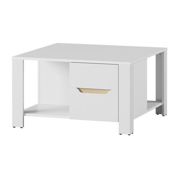 Bílý konferenční stolek Szynaka Meble Ice