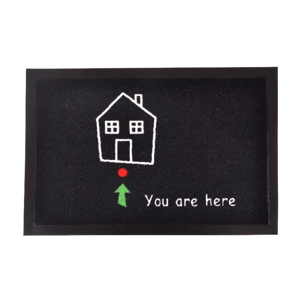 Rohožka Hanse Home You Are Here, 40 × 60 cm