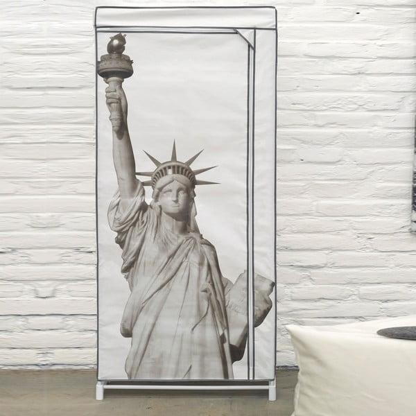 Textilní šatní skříň Compactor Wardrobe Liberty