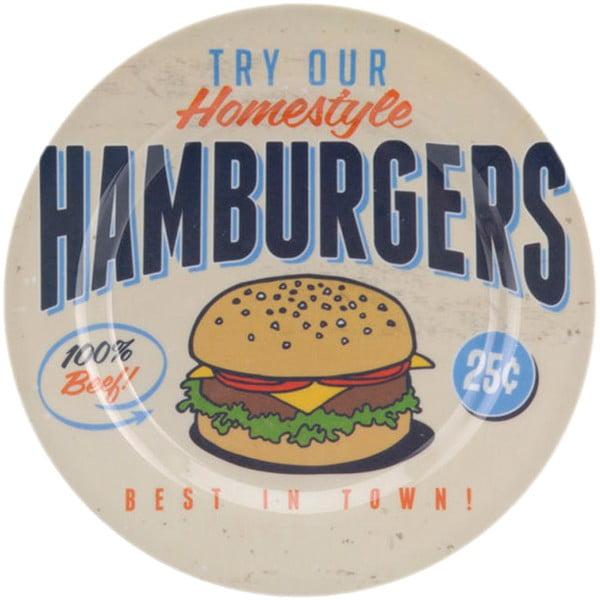 Kempinková sada nádobí Hamburgers, 6 ks