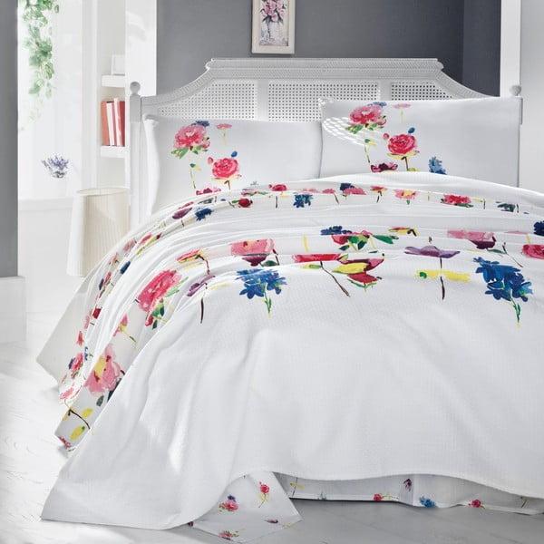 Lehký přehoz přes postel Spring, 200x235 cm