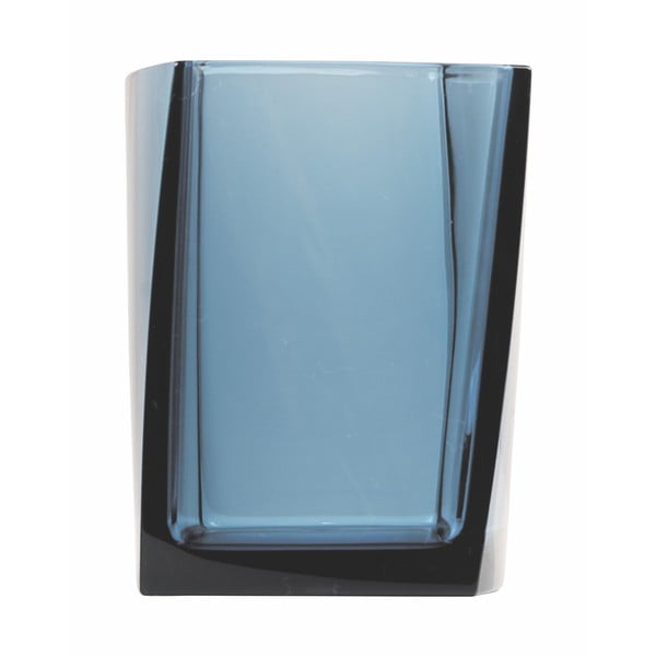 Dóza na kartáčky Transparent Petrol Blue
