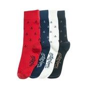 Čtyři páry ponožek Funky Steps Bro, univerzální velikost