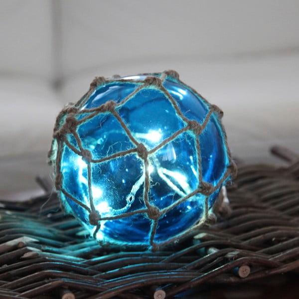 Svítící dekorace Noah Blue, 14 cm