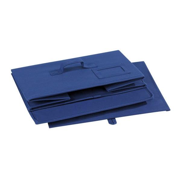 Modrý úložný box Wenko Ocean