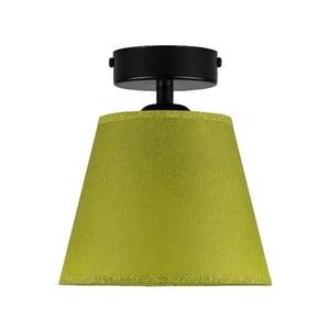 Zelené stropní svítidlo Sotto Luce IRO Parchment, ⌀16cm