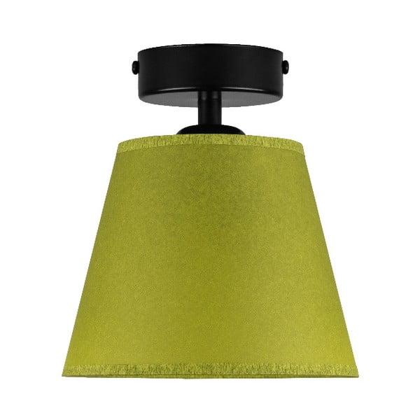 IRO Parchment zöld mennyezeti lámpa, ⌀ 16 cm - Sotto Luce