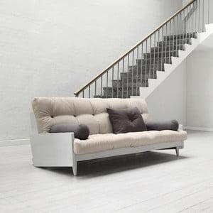 Canapea extensibilă Karup Indie Cool Gray/Vision/Gris
