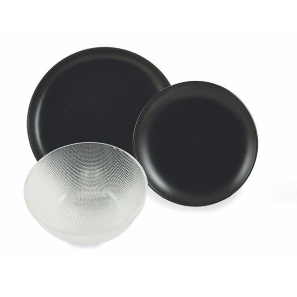 18dílná sada bílého nádobí z kameniny Villad'Este Contempora
