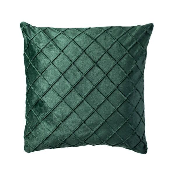 Pernă JAHU Alfa, 45 x 45 cm, verde închis