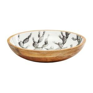 Mísa z mangového dřeva Kare Design Cactus, ⌀ 44,5 cm