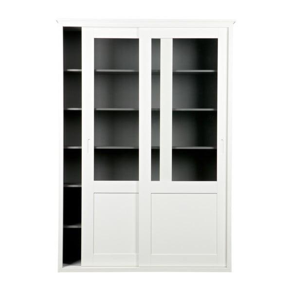 Vince fehér tolóajtós szekrény - WOOOD