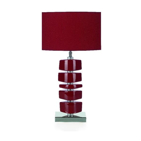 Stolní lampa Lina, červená