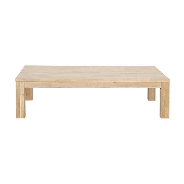 Dubový konferenční stolek WOOOD Largo, délka150