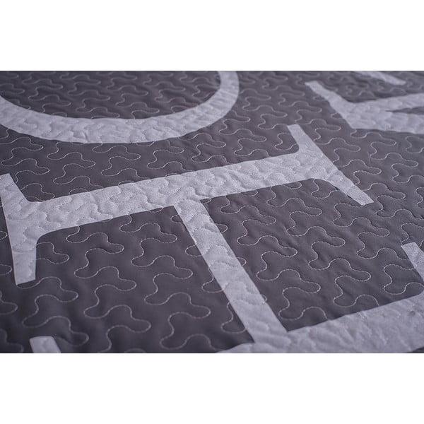 Prošívaný přehoz Home 150x200 cm, šedý