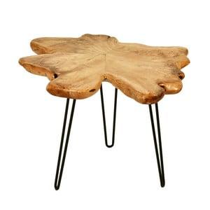 Odkládací stolek s deskou z cedrového dřeva 360 Living Montanio 522