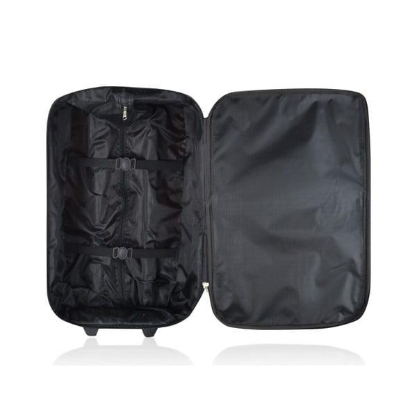 Sada 3 kufrů Valis Black, 65 l/44 l/28 l