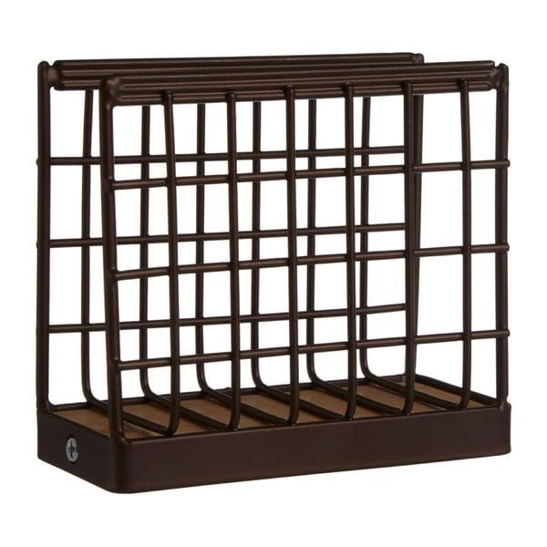 Bronzszínű vas szalvétatartó, 13 x 12 cm - Premier Housewares