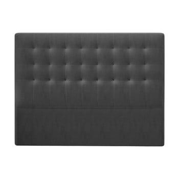 Tăblie pat cu înveliș de catifea Windsor & Co Sofas Athena, 180x120cm, gri închis de la Windsor & Co Sofas