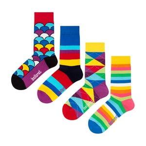 Dárkový set ponožek Ballonet, 4 páry, velikost 36-40