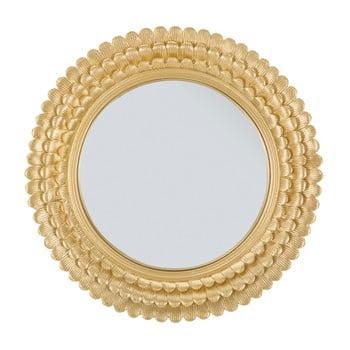 Oglindă de perete cu ramă din fier Mauro Ferretti Glam Lamin, ⌀ 43 cm de la Mauro Ferretti