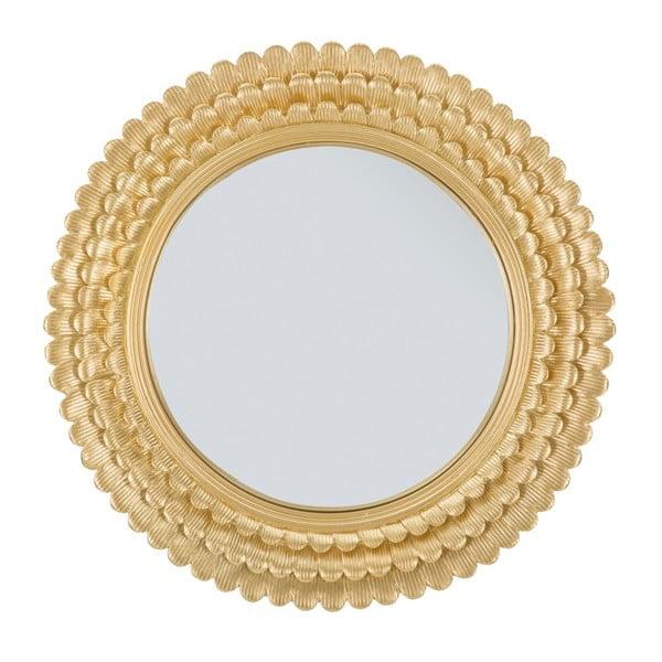 Oglindă de perete cu ramă din fier Mauro Ferretti Glam Lamin, ⌀ 43 cm