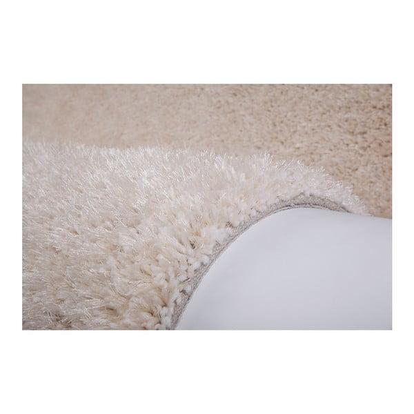 Béžový ručně vyráběný koberec Obsession My Touch Me Bone, 60 x 110 cm