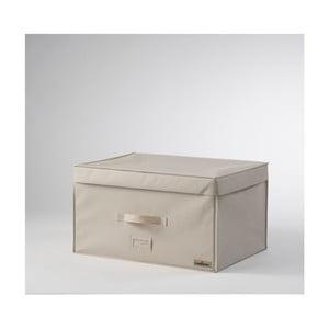 Světle béžový vakuový box Compactor, délka55cm
