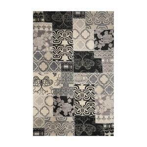Koberec Webtappeti Modern Kilim Charcoal, 75x170cm