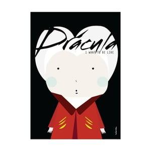Plakát I want to be like Dracula