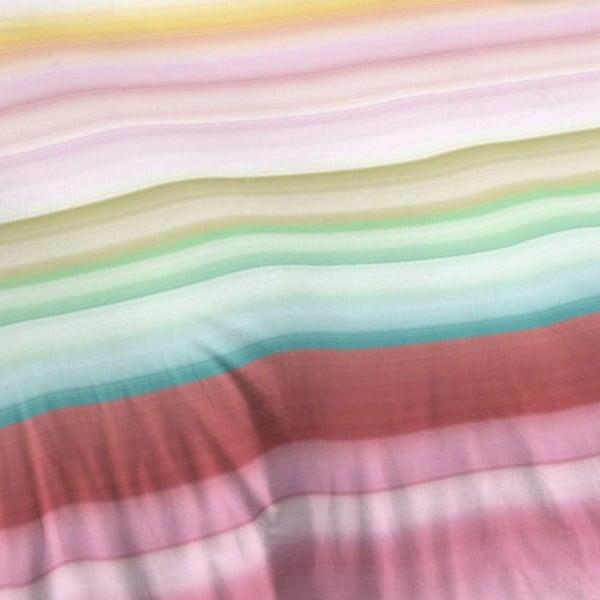 Pruhované bavlněné povlečení Muller Textiel Descanso, 200 x 200 cm
