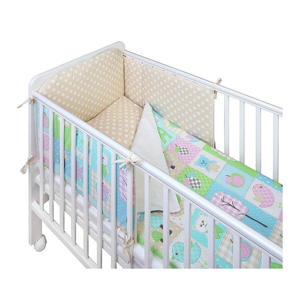 Pikowany ochraniacz do łóżeczka dziecięcego YappyKids Play Yard