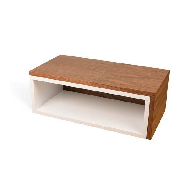 Konferenční stolek s detaily v dekoru dřeva TemaHome Jazz
