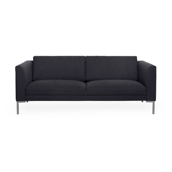Antracytowa sofa 3-osobowa Softnord Kery