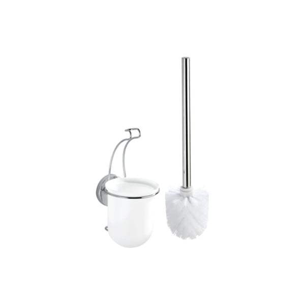 Samodržící toaletní kartáč Wenko Vacuum-Loc, nosnost až33kg