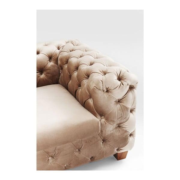 Béžová třímístná pohovka Kare Design Desire