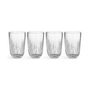 Sada 4 skleněných sklenic Kähler Design Hammershoi, 330 ml