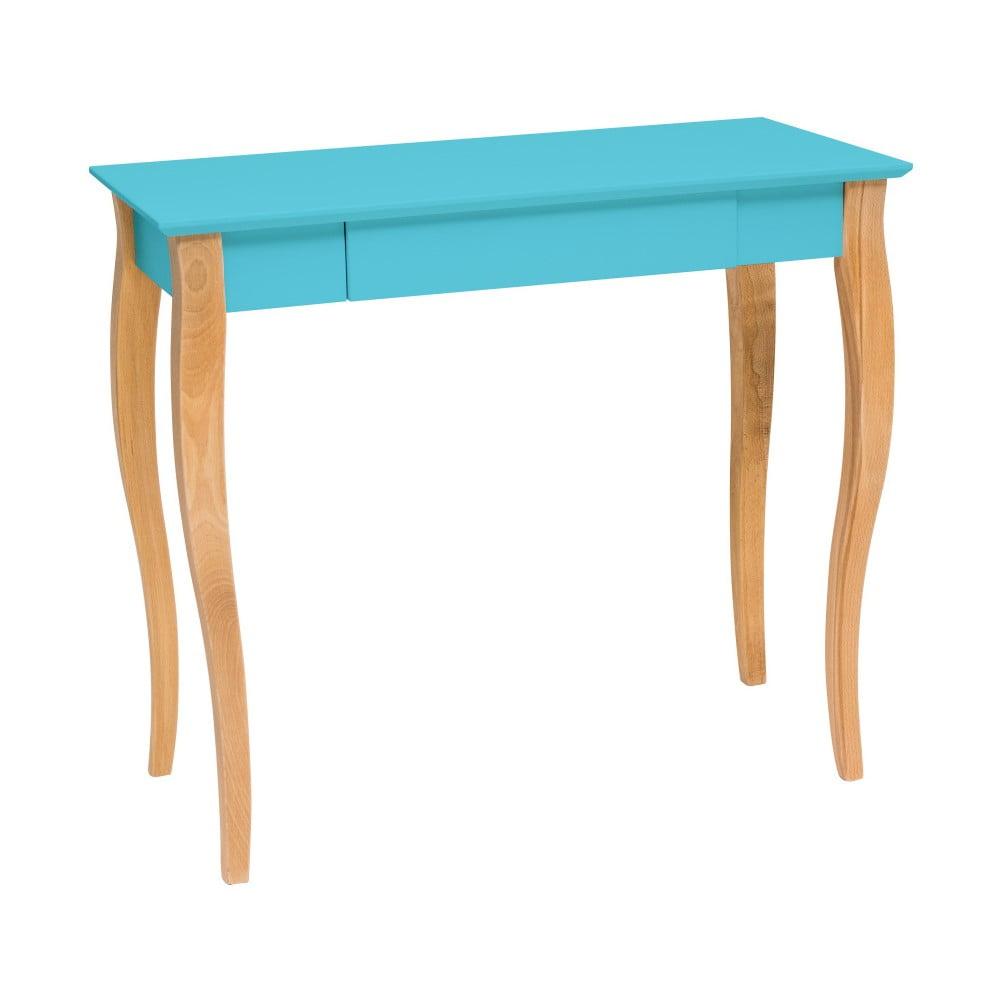 Tmavě tyrkysový psací stůl Ragaba Lillo, délka 85 cm