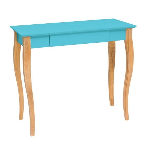 Lillo sötét türkiz íróasztal, hossz 85 cm - Ragaba