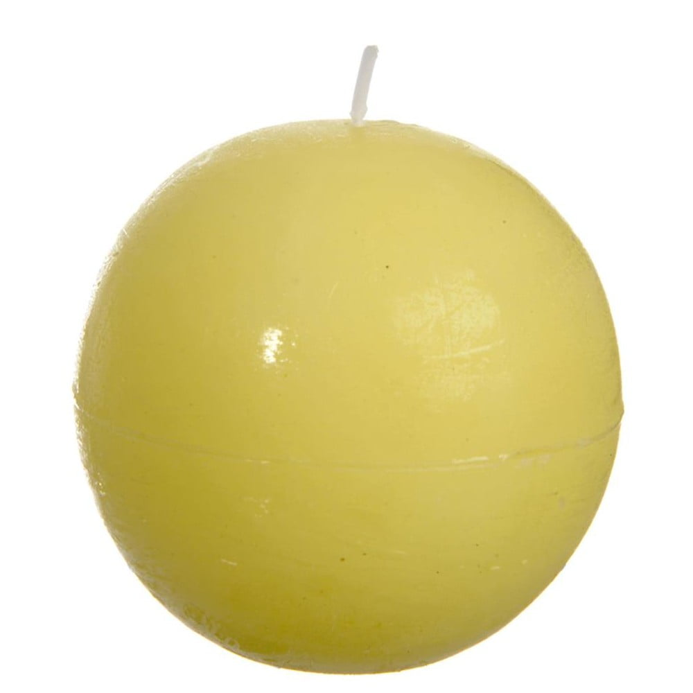 Žlutá svíčka J-Line Ball