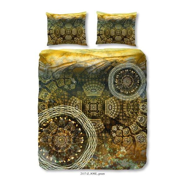 Povlečení na dvoulůžko z bavlněného saténu Muller Textiels Sieto, 200 x 240 cm
