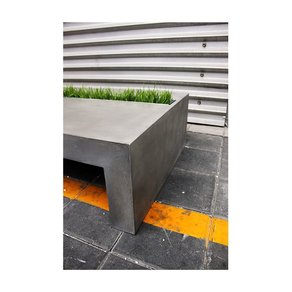Betonový stolek Lyon Béton Green Rectangular