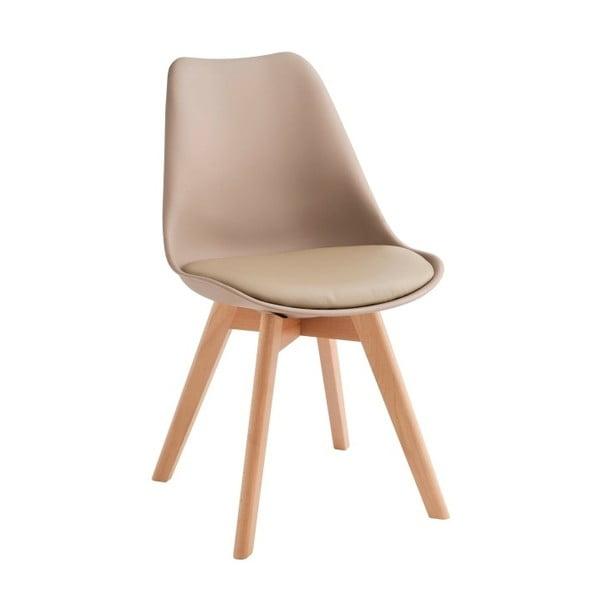 Sada 4 béžových židlí Design Twist Tom