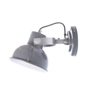 Tmavě šedé nástěnné svítidlo Look4Lamps Office