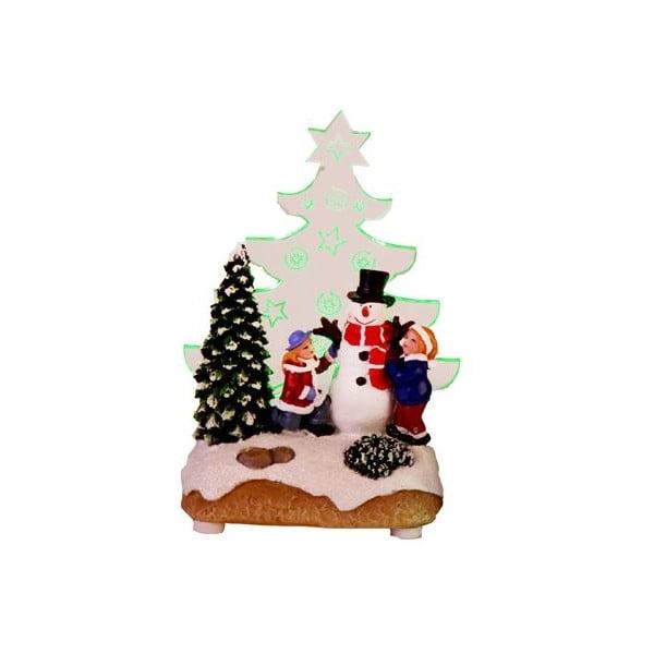 Svítící dekorace Santa with Children