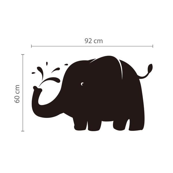 Tabulová samolepka Slon