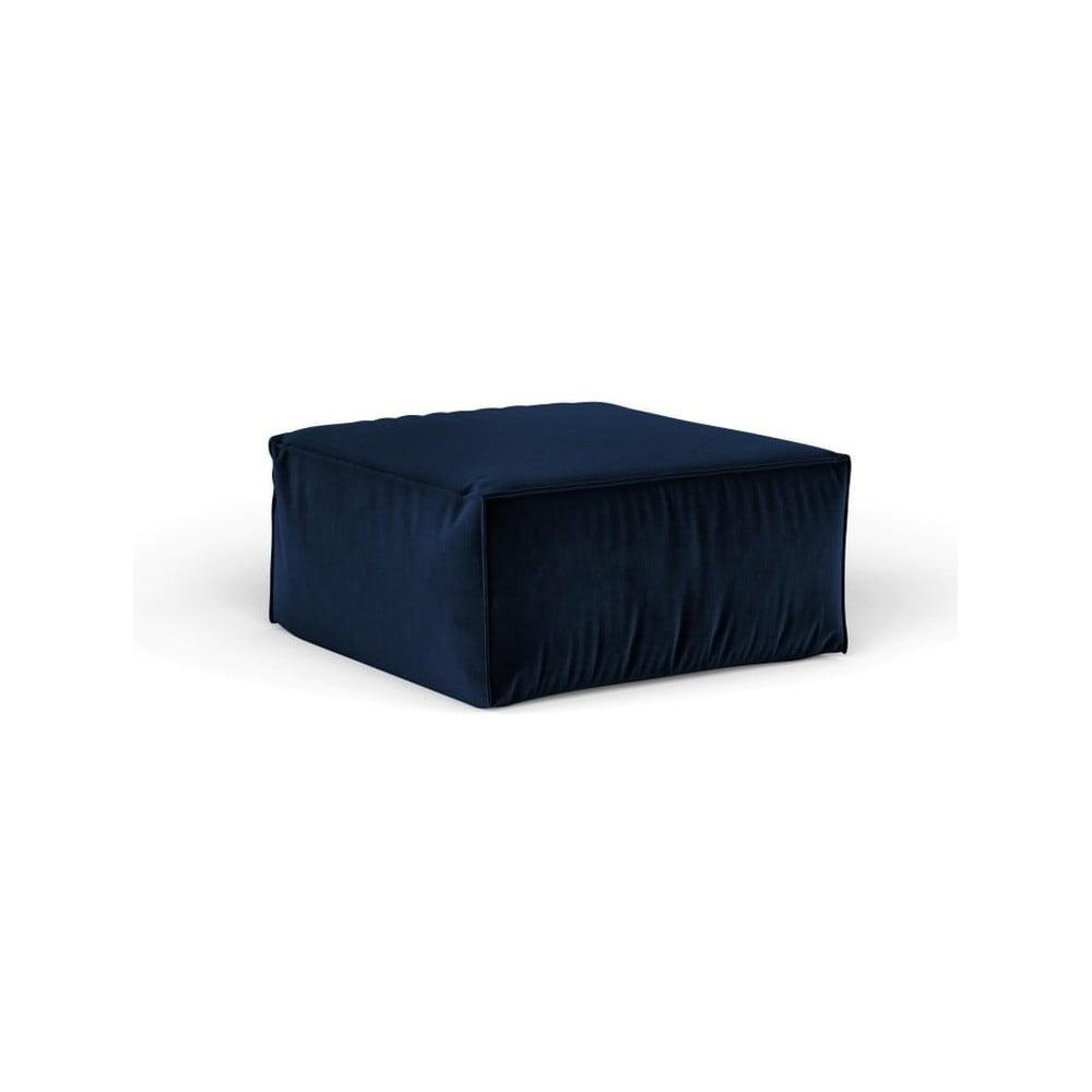 Produktové foto Tmavě modrý puf Cosmopolitan Design Florida, 65 x 65 cm