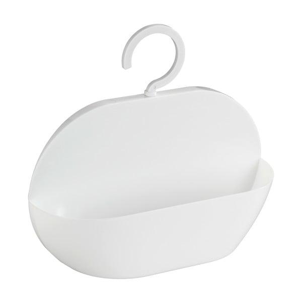Biały koszyk wiszący pod prysznic Wenko Cocktail