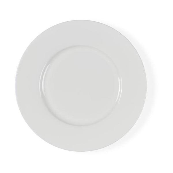 Bílý porcelánový dezertní talíř Bitz Mensa, průměr 22 cm